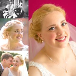 Very Natural makeup for our Stunning Bride Sarah