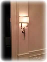 Sconce installation