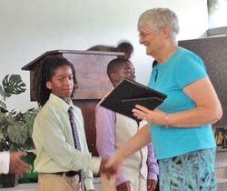 Pastor Jeanette receives appreciation