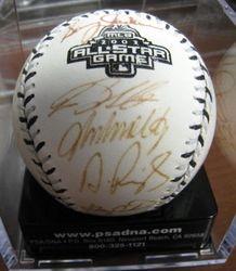 Albert Pujols 2003 All Star Team Signed Baseball PSA/DNA