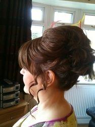 Kates Hair Up