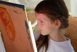 Froler Picasso painting workshop