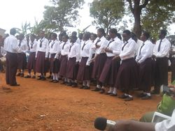 The Secondary School Choir performs again