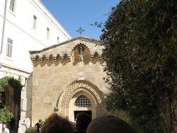 Capilla donde Jesus fue coronado de espinas
