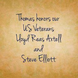 Thomas respects all Veterans