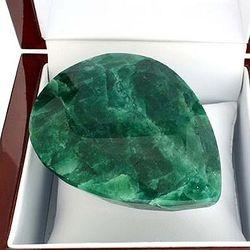 Pear Cut Green Beryl Gemstone