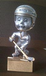 Bobble Head Hockey Trophy