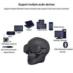 Skull BT Speaker Blk