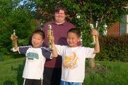 Kevin, Patrick and Josh