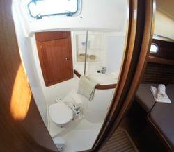 Front toilet