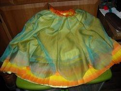 overskirt added