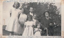 Frank Snare and his Grandchildren