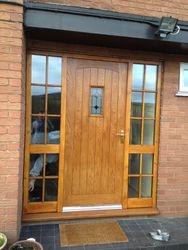 New front door & frame