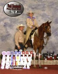 Crystal and Peanut Res. World Champion
