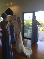 Veronica's wedding party at Cable bay Waiheke