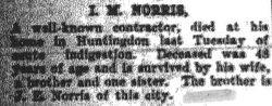 Norris, I. M. 1908