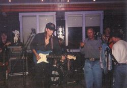 European Tour with Archie Lee Hooker - 1996