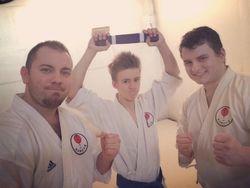 Joe's Purple belt!