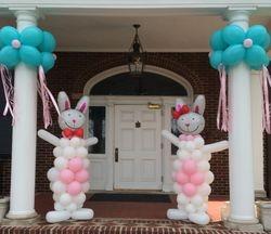 Easter Balloon Bunnies