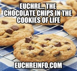 Euchre...the chocolate chips in the cookies of life.