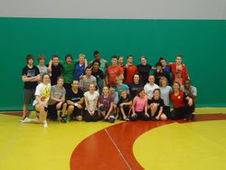 2014 - Clinic with Dory Yeats and NCWC Alumna Erica Weibe at St. Patrick's High School (Ottawa, ON)