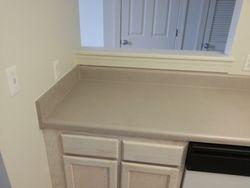 Kitchen Countertop Under Pass-Thru BEFORE