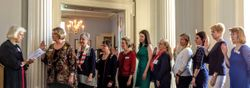 New Chapter Officers sworn in