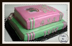 Aka Graduation Cake