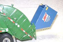 rearload dumping container