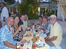 Dinner with Amy, Kenny, Raffi, Lisa, Raffi's neice and her boyfriend