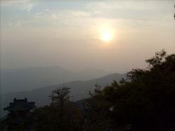 View from Hua Guo Mountain