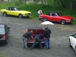 Let's check the fuel pump...