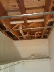Closet ceiling
