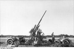 8.8cm Flak 18 AA-Gun: