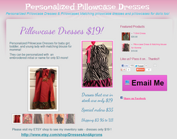 Pillowcase Dress Website