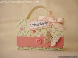 Accordion File Friendship Box