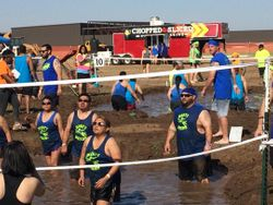 Dirtry Deeds Peace Love Mud Volleyball