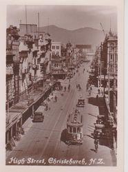 High Street Christchurch 1920's