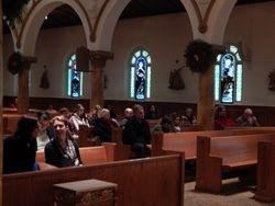 Congregation before Mass