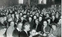 Women's Auxiliary Ladies meeting