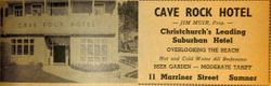 Cave Rock Hotel Yellow Pages Advert