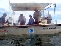 The boat crew
