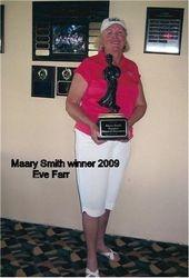 Maary Smith Winner 2009- Eve Farr