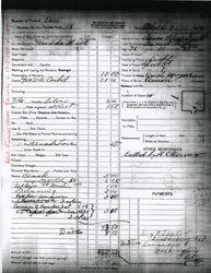 Aaron B. Isett Funeral Record