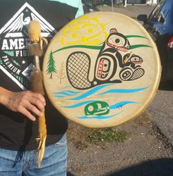 Tsa Tungwul - Beaver Drum