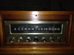 CM Stereo  prototype that survived the great Austin Texas factory fire