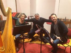 After our rehearsal at La Scala