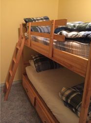 Upstairs bedroom - sleeps 2