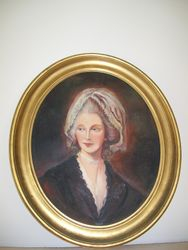 FRAMED ARTWORK PORTRAIT