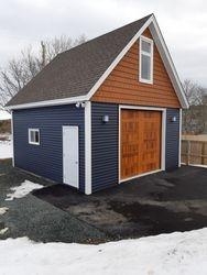 20' x 20' Deluxe Garage c/w Loft